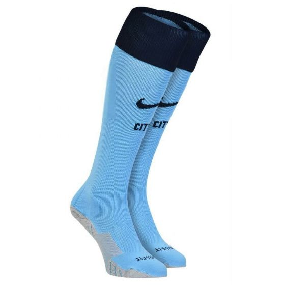 Manchester City Home Socks 2014 - 2015