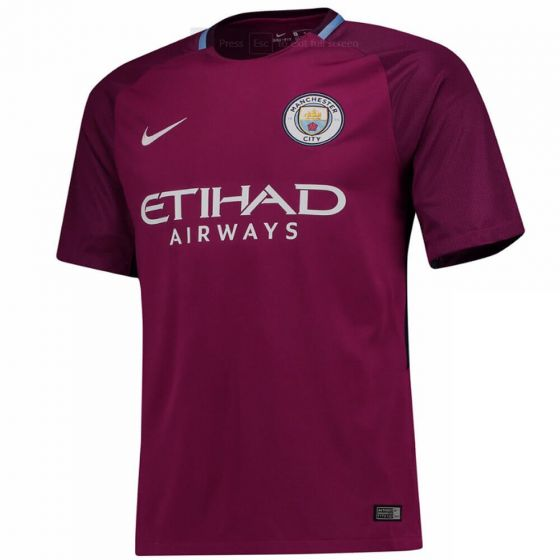 Manchester City Kids Away Shirt 2017/18