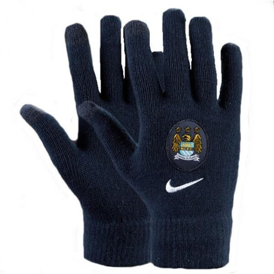Manchester City Nike Gloves (Navy)