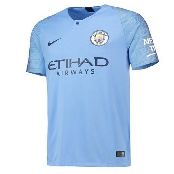 Manchester City Nike Home Shirt 2018/19 (Kids)