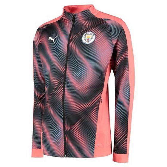 Manchester City Pink Stadium Jacket 2019/20