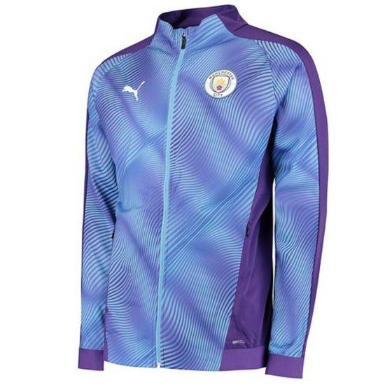 Manchester City Purple Stadium Jacket 2019/20
