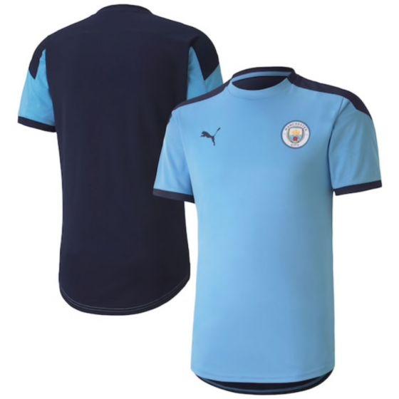 Manchester City sky blue training jersey 20/21