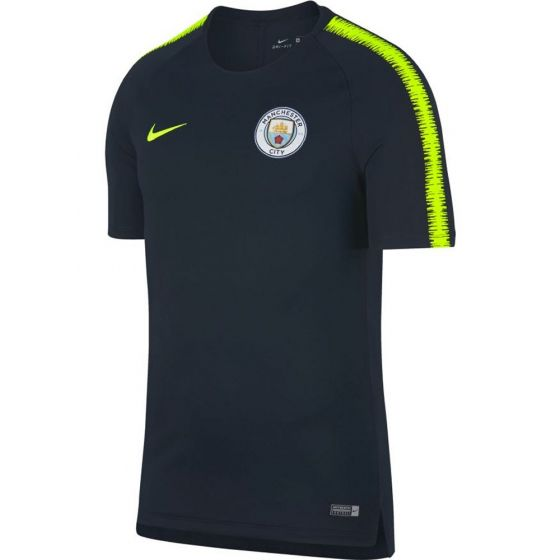 Manchester City Nike Navy Squad Training Top 2018/19 (Adults)