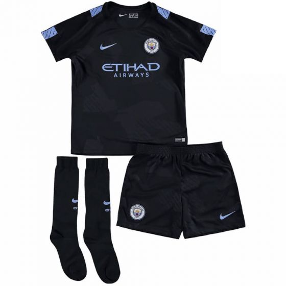 Manchester City Kids Third Kit 2017/18