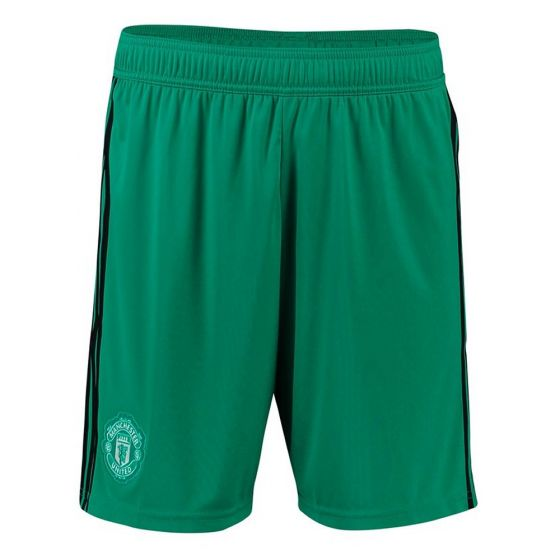 Manchester United Adidas Home Goalkeeper Shorts 2018/19 (Kids)