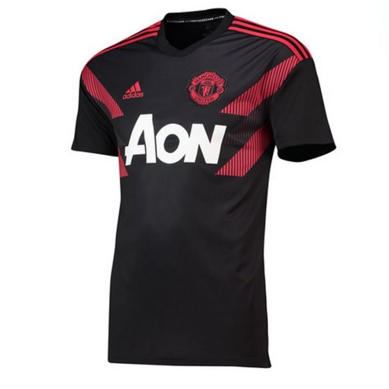 Manchester United Adidas Home Pre-Match Shirt 2018/19 (Adults)