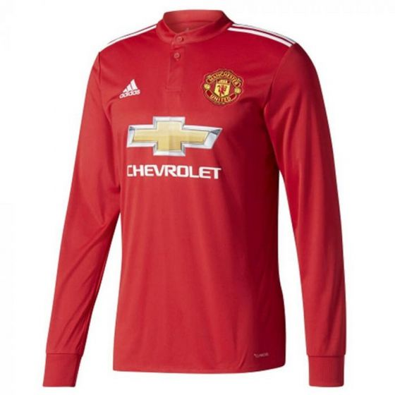 Manchester United Kids Long-Sleeve Home Shirt 2017/18