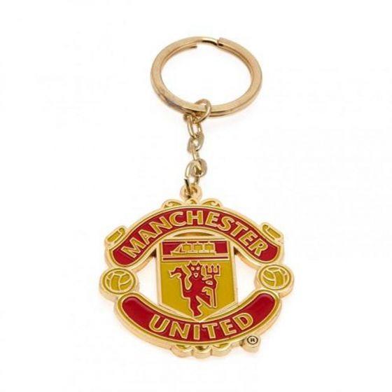 Manchester United Metal Keyring