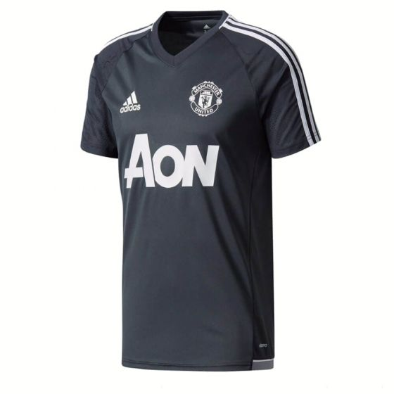 Manchester United Kids Training Jersey 2017/18 (Dark Grey)