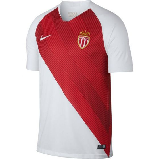AS Monaco Nike Home Shirt 2018/19 (Adults)