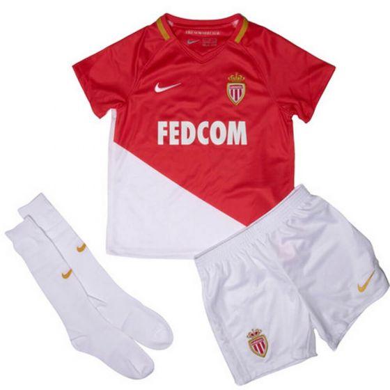 AS Monaco Kids Home Kit 2017/18