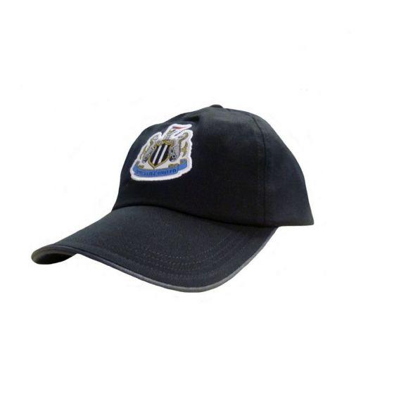 Newcastle United Black Baseball Cap