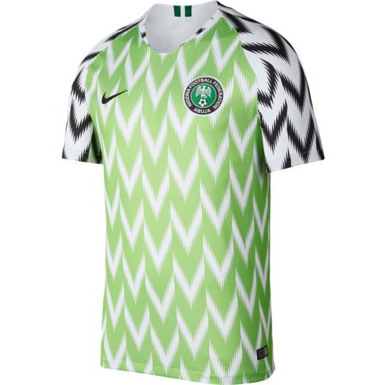 Nigeria Nike Home Shirt 2018/19 (Adults)