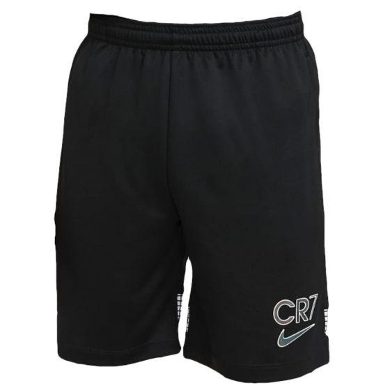 Nike CR7 junior black grid shorts 20/21
