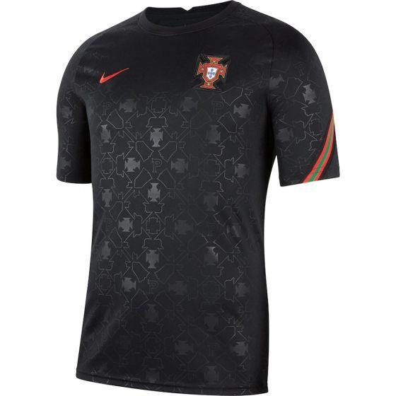 Portugal Black Pre-Match Jersey 2020/21
