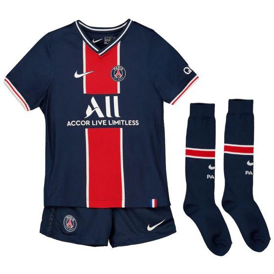 Paris Saint-Germain Kids Home Kit 2020/21