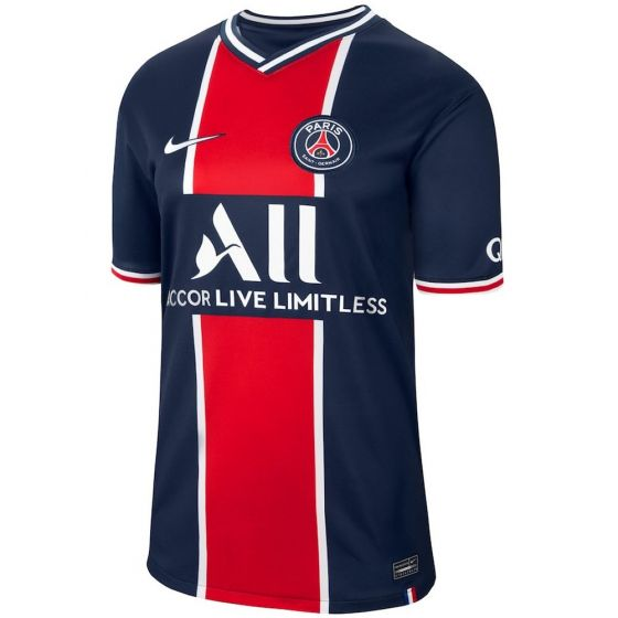 Paris Saint-Germain Kids Home Shirt 2020/21
