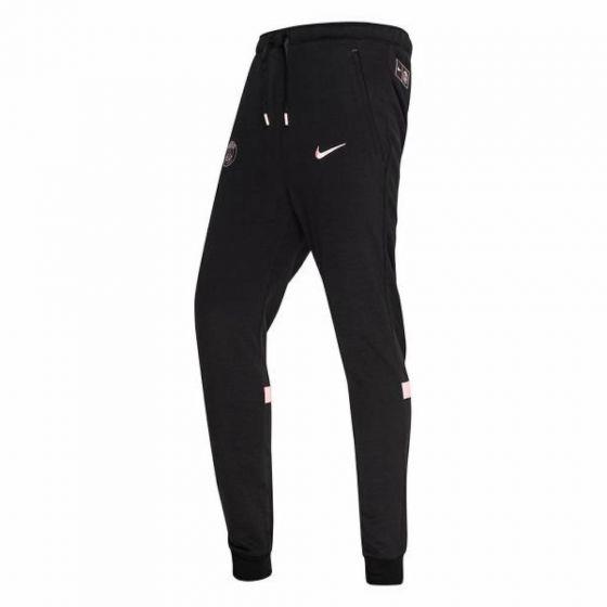 Paris Saint Germain Black Travel Training Pants 2021/22