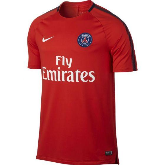 Paris Saint-Germain Squad Training Shirt 2017/18 (Red)