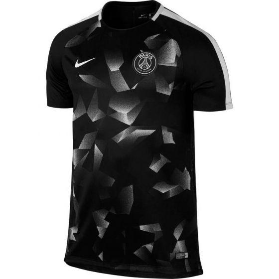 Paris Saint Germain Squad Training Jersey 2017/18 (Black/White)