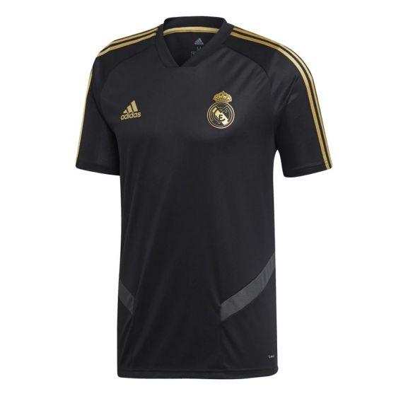 Real Madrid Kids Black Training Jersey 2019/20