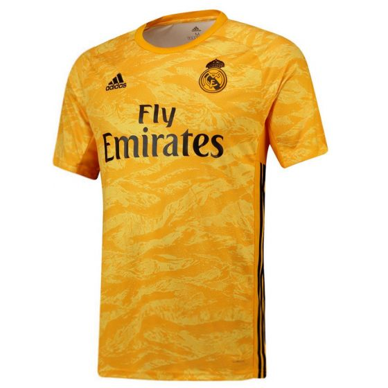 Real Madrid Kids Home Goalkeeper Shirt 2019/20