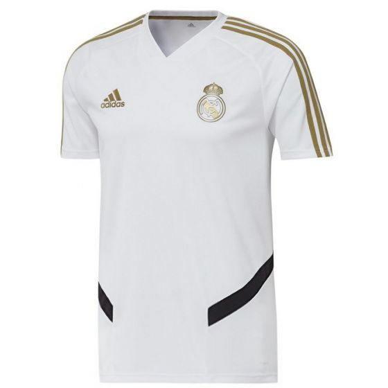Real Madrid White Training Jersey 2019/20