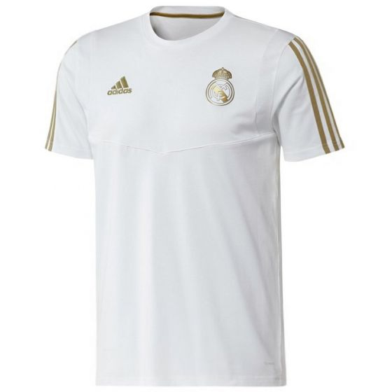 Real Madrid White T-shirt 2019/20
