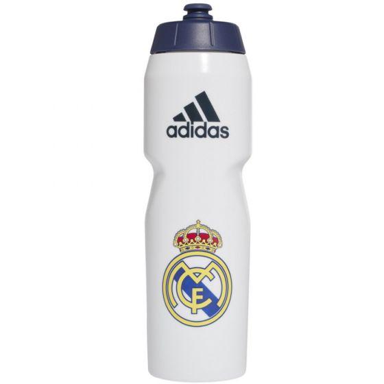 Real Madrid White Drinks Bottle 2020/21