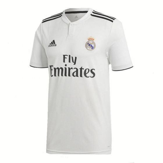 Real Madrid Adidas Home Shirt 2018/19 (Adults)
