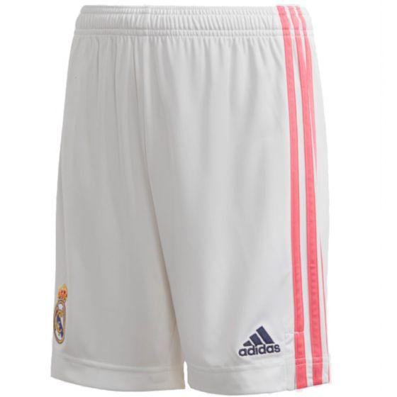 Real Madrid junior home shorts 20/21