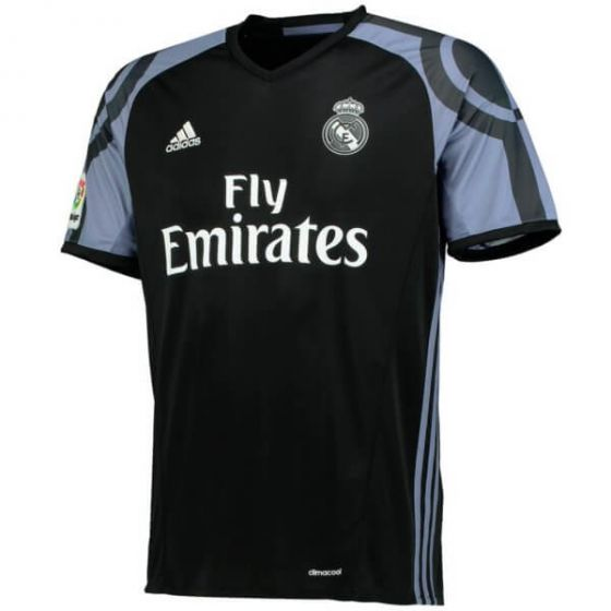 Real Madrid Kids Third Football Shirt 2016-17