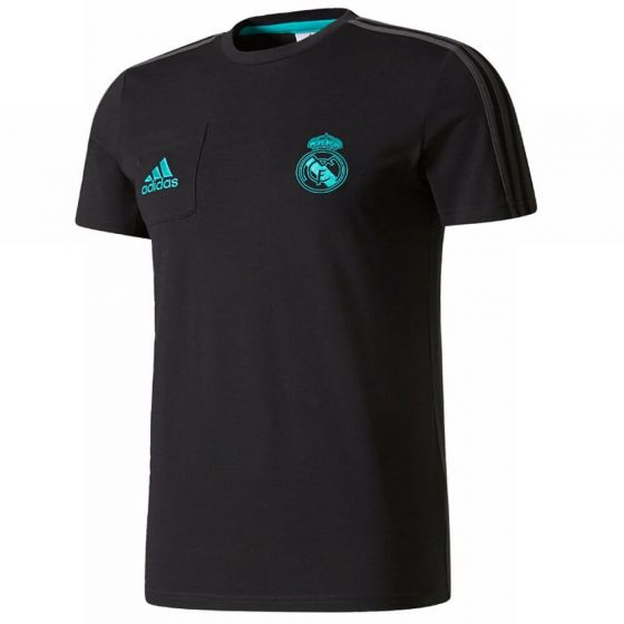 Real Madrid Kids Training T-shirt 2017/18 (Black)