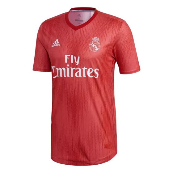 Real Madrid Adidas Third Authentic Shirt 2018/19 (Adults)