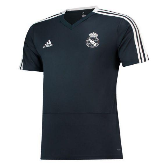 Real Madrid Adidas Dark Grey Training Jersey 2018/19 (Adults)