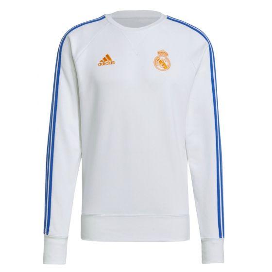 Real Madrid white sweatshirt 21/22