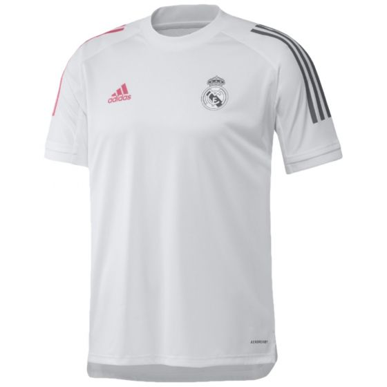Real Madrid 20/21 white training jersey