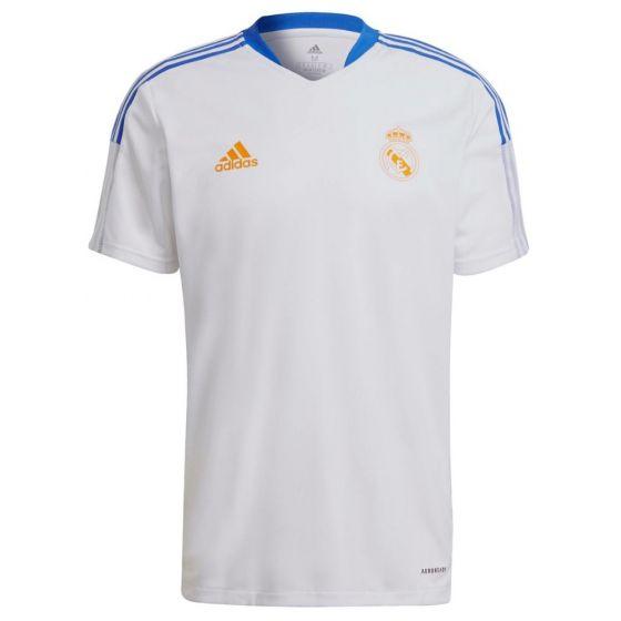 Real Madrid white Tiro training jersey 21/22