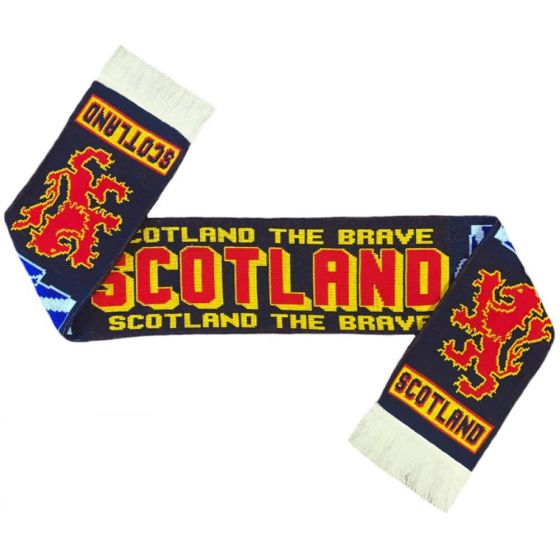 Scotland 'The Brave' Football Scarf