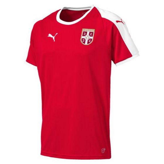 Serbia Puma Home Shirt 2018/19 (Adults)