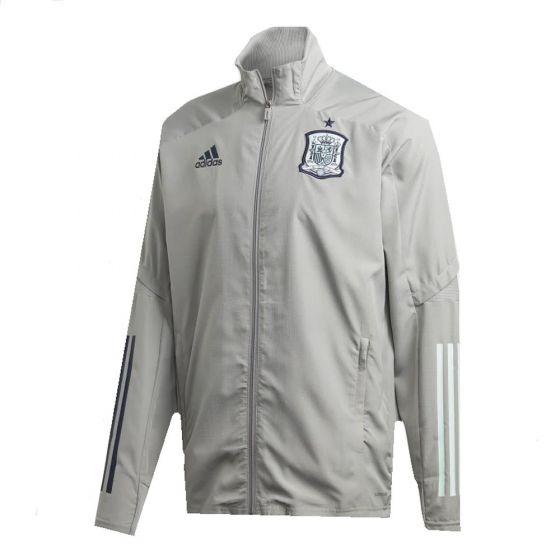 Spain Grey Presentation Jacket 2020/21