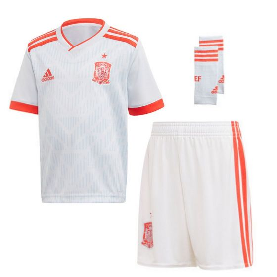 Spain Adidas Away Kit 2018/19 (Kids)
