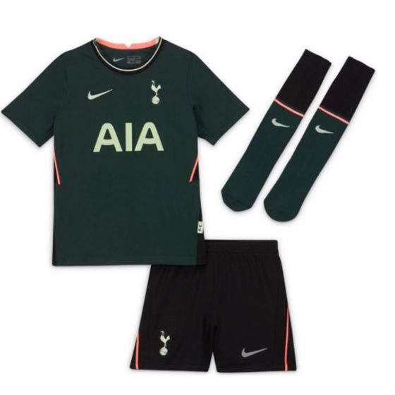Tottenham Hotspur Kids Away Kit 2020/21