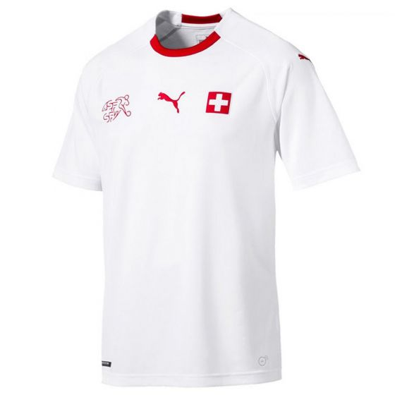 Switzerland Puma Away Shirt 2018/19 (Adults)