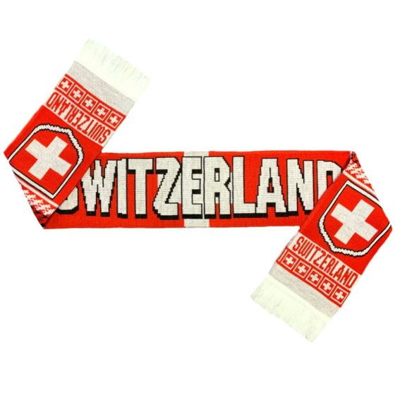 Switzerland Team Football Scarf