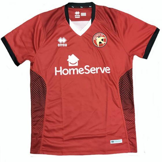 Walsall FC Errea Home Shirt 2018/19 (Adults)