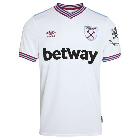 West Ham United Away Football Shirt 2019/20