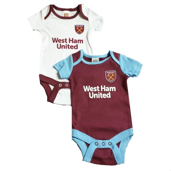 West Ham United Baby Bodysuits 2019/20