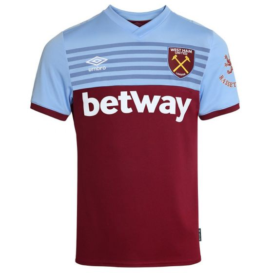 West Ham United Home Football Shirt 2019/20